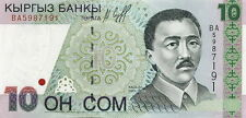 Kirgistan / Kirgisistan / Kyrgyzstan 10 Som 1997 Pick 14 (1)