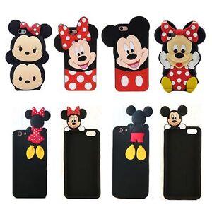 3D Cartoon Disney Minnie Soft Silicone Rubber Gel Cover Case For ... fa4e65600686
