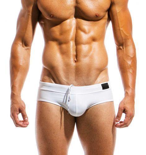 Modus Vivendi maillot ms1811 Hommes Slip swimbrief White