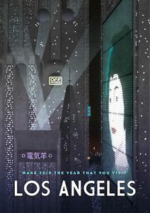 Blade-Runner-Travel-Print-Poster-Signed-amp-Numbered-100-NT-Mondo