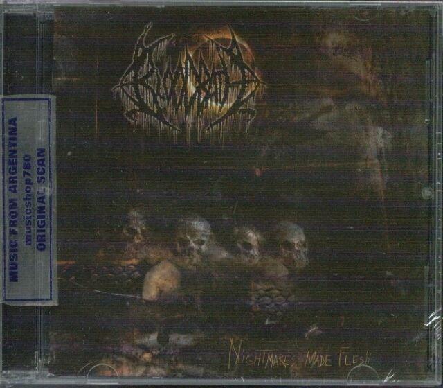 BLOODBATH NIGHTMARES MADE FLESH SEALED CD NEW