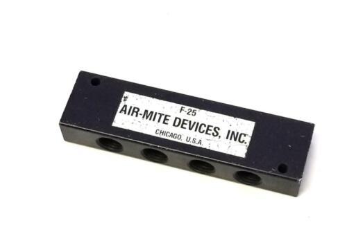 """Air-Mite F-25 10 Port Manifold 1//4/"""" NPT Ports"""