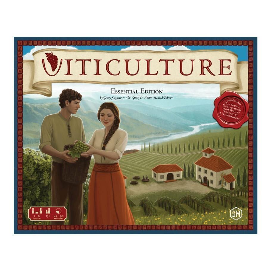 Weinbau  wesentliche ausgabe - brettspiel - neue & versiegelt - stonemaier spiele