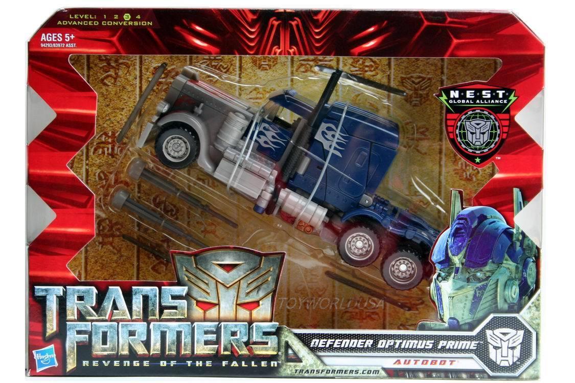 ahorra hasta un 30-50% de descuento Transformers Transformers Transformers la venganza de los caídos defensor Optimus Prime  marca de lujo