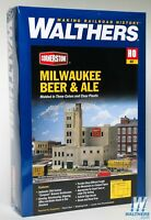Walthers HO Cornerstone Series Milwaukee Beer & Ale Brewery Kit 933-3024