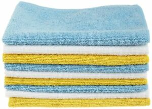 Microfiber Cleaning Cloth Polishing Soft No Scratch Car Home Office 24 Pack