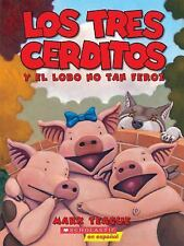 Los Tres Cerditos y el Lobo No Tan Feroz by Mark Teague (2013, Picture Book)