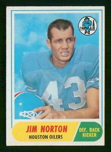 JIM NORTON 1968 TOPPS 68 NO 41 VG+  37107