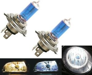 Rally-9003-HB2-H4-100-90W-5000K-White-Two-Bulbs-Head-Light-Dual-Beam-Replacement