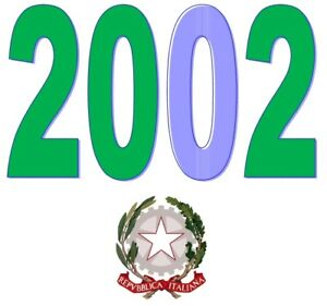 ITALIA-Repubblica-2002-Singolo-Annata-Completa-integri-MNH-Tutte-le-emissioni