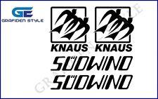 4 Stück KNAUS SÜDWIND - Wohnwagen Aufkleber - Sticker - Decal !<>!<>!<>!