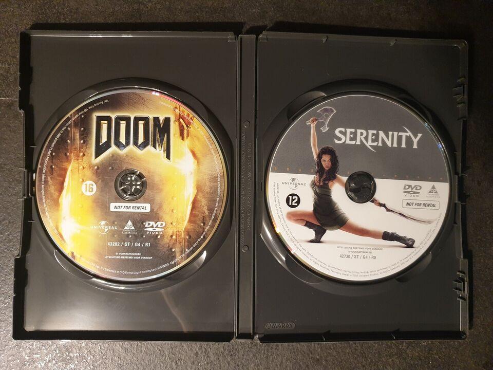 DOOM / Serenity (Box-set med 2 film), instruktør Andrzej