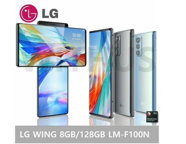 LG WING 5G Swivel LM-F100N Factory Unlocked 8GB / 128GB Snapdragon 765 *OPEN BOX
