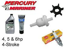 Mercury/Mariner 4 / 5 / 6hp 4-Stroke Outboard Service Kit (Impeller Spark Plug)