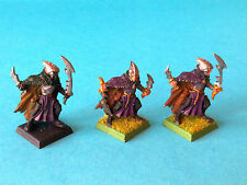 Warhammer - Dark Elf - Black Arc Corsairs x3 - Metal WF339