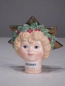 + # A008061 Goebel Archive Motif Ange Tête Pour Porcelaine Poupée De Chiffon 64 017-puppe 64 017 Fr-fr Afficher Le Titre D'origine