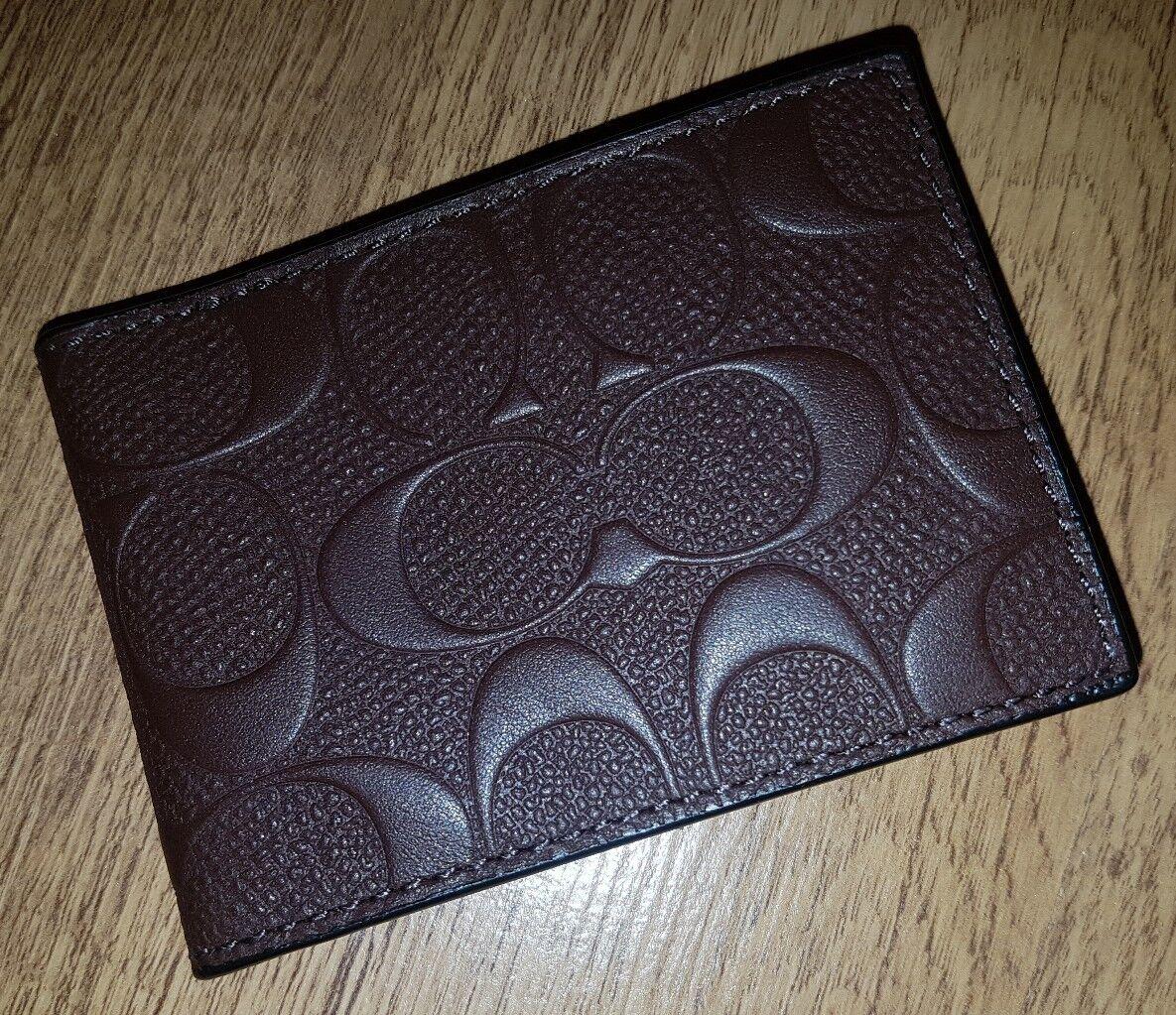Designer Coach 3D print card holder - RRP
