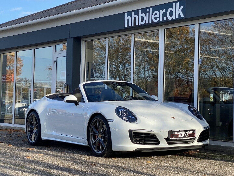 Porsche 911 Carrera 4S 3,0 Cabriolet PDK 2d - 1.774.500 kr.