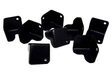 "8 Pieces Metal Cabinet Corner Black For DJ and Speaker Boxes HA-48BK 1.5""x1.5"""