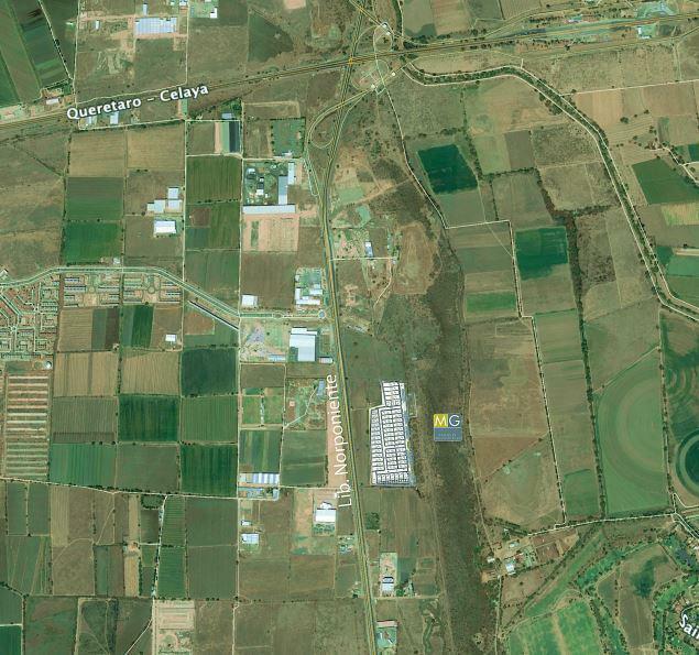 Terreno industrial en Venta en Parque sobre el Libramiento Norponiente 560m2