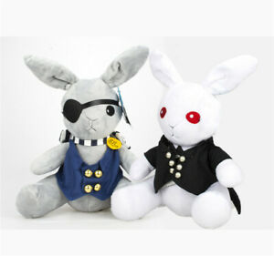 "Clearance Anime  Black Butler Sebastian Michaelis 12/"" Plush Doll Christmas Gift"