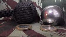 """NEW Monkey'S Fist ø40mm Bille Acier STEEL BALL(""""Self Defense""""Survie""""RoundCrown)"""