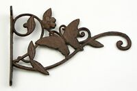 Cast Iron Rust Color Butterfly Hanger