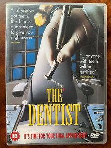 El-Dentista-DVD-1996-Culto-Comedia-Terror-Pelicula-de-Cine-Raro-Cinema-Club