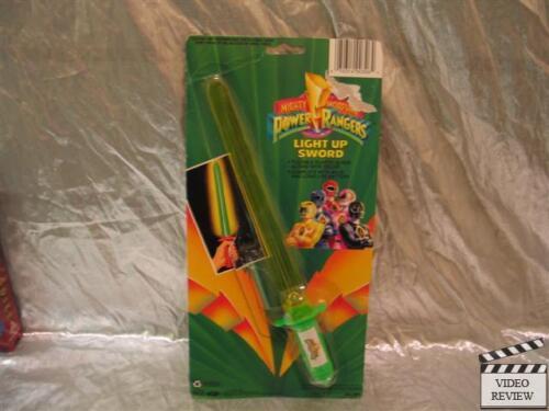 Mighty Morphin Power Rangers Light Up Sword  Bandai Green Sword