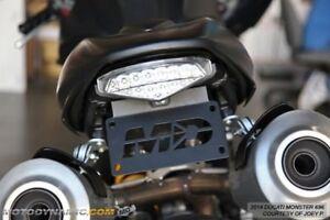 Fender-Eliminator-Ducati-Monster-696-2009-2014-LED-Plate-Light-Life-Warranty