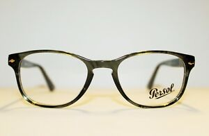 d022a1a58d8b BRAND NEW PERSOL PO 3085-V 1020 STRIPED GREY AUTHENTIC EYEGLASSES RX ...