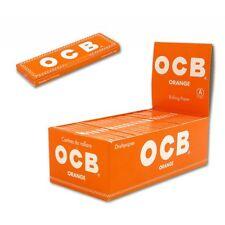 Cartine OCB Corte ORANGE Arancioni 50 pz 1 Box