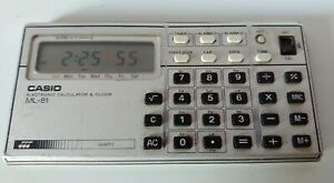 CASIO-ML-81-ELECTRONIC-CALCULATOR-amp-CLOCK-WITH-SOUNDS