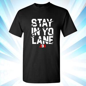 ae461211c811 BBB - Big Baller - STAY IN YO LANE - SHOWTIME LAKE SHOW - Black T ...