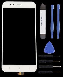 Pantalla-tactil-disco-PANTALLA-VIDRIO-DIGITALIZADORA-touch-para-Xiaomi-mie-herramienta-a1-blanco
