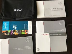 nissan altima owners manual 2017