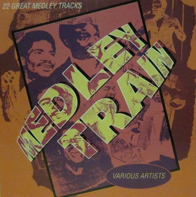 Various Reggae(CD Album)Medley Train-Trojan-CDTRL 350-UK-1995-New
