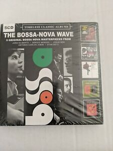 The-Bossa-Nova-Wave-5-Original-Album-Masterpieces-Various-Artist-NEW-5-CD-SET