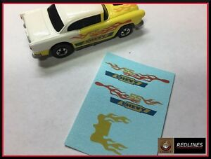 1982 Hot Wheels Redline '55 Chevy' Reproduction Decal 5179