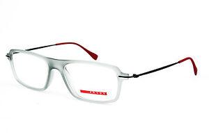 Prada-Sport-Damen-Herren-Brillenfassung-VPS03F-53mm-grau-transparent-274-21