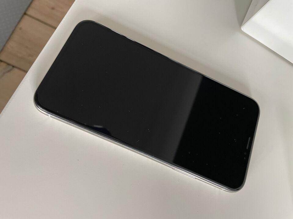 iPhone X, 256 GB, hvid