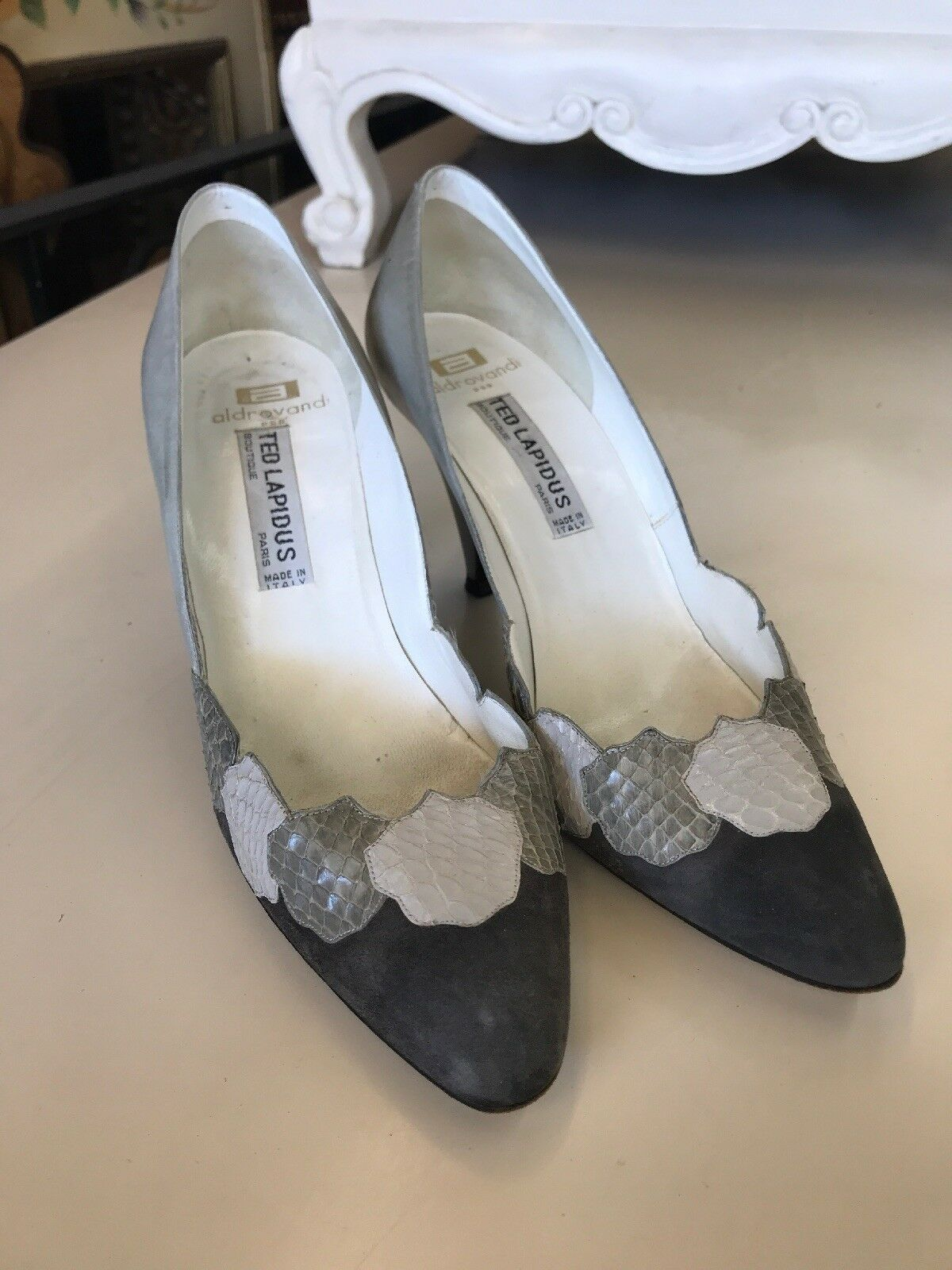 Gentlemen/Ladies Aldrovandi/Ted Lapidus High Heel Woman's Shoes Fine Optimal workmanship Optimal Fine price Valuable boutique 7f469e