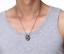 Collane-Coppia-Collana-Uomo-Donna-Acciaio-Argento-Cuore-Spezzato-Incisione-Dedic miniatura 7