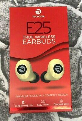 Raycon E25 True Wireless Earbuds Gold Premium Sound Rbe725 Gol New Free Shipping 811162030619 Ebay