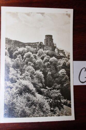 Postkarte Ansichtskarte Baden-WürttembergDie Heidelberger Schlossruine