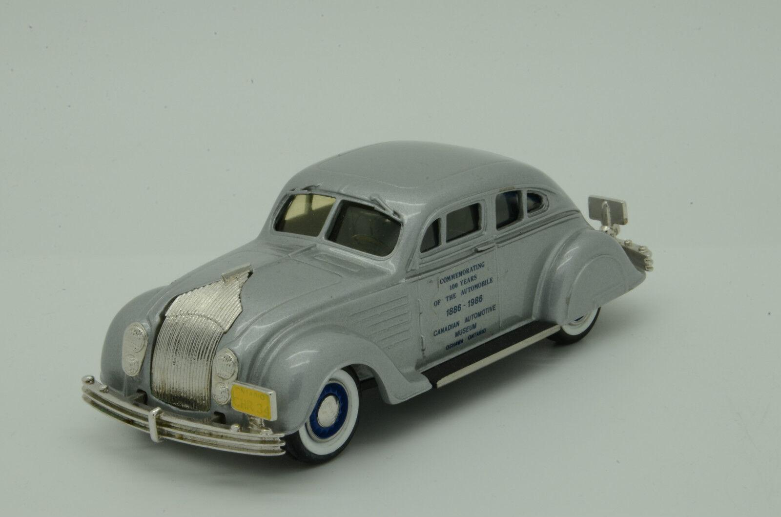 Raro Chrysler Airflow 1934 Dos Puerta coupe100years Museo Durham 1 43 Lim