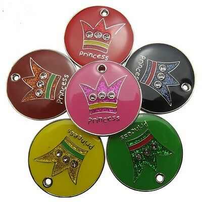 Cordiale Incisi Pet Tag Cane Gatto Id Principessa & Principe 25mm Disco Libero Incisione & Post-