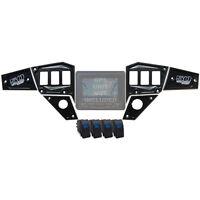 Cnc Dash Panel Plate Black Polaris Gps Display 2015 Rzr 900 Trail 6pc Custom