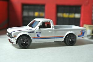Hot Wheels - Datsun 620 Pickup Truck - White - Loose 1:64 ...