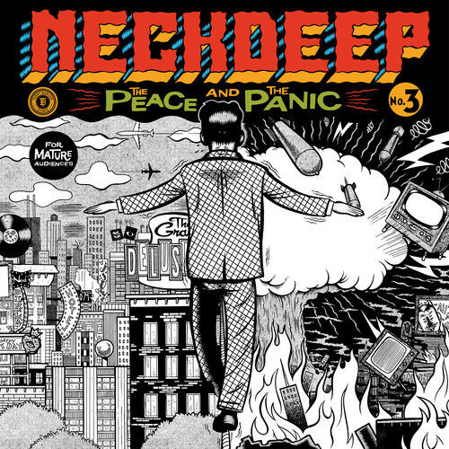 Neck Deep - The Peace And The Panic [New CD]